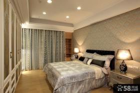 90平米古典现代二居卧室装修图片