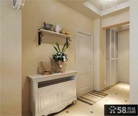 田园风格家居玄关装饰室内效果图片