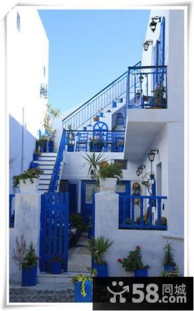 地中海复式楼梯装修效果图2013