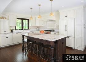 小户型厨房装修效果图 开放式厨房装修效果图