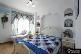 地中海家庭设计卧室图片欣赏
