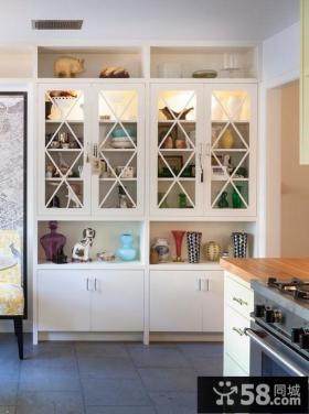 欧式厨房整体橱柜效果图片