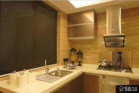现代设计风格小厨房装修效果图
