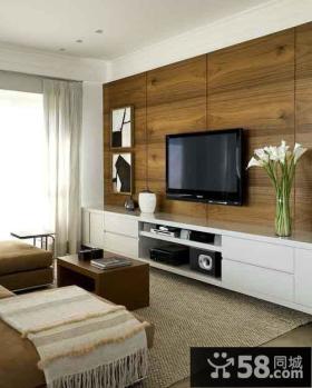 家居优质客厅电视背景墙大全