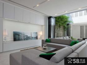 极简主义风格客厅装修图片