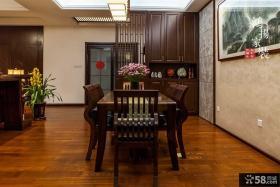 中式风格餐厅隔断图片欣赏