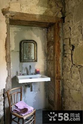 西班牙艺术家创意复式楼卫生间装修效果图大全2012图片
