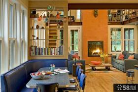 小复式客厅餐厅装修效果图