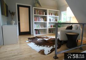 美式风格 装修书房