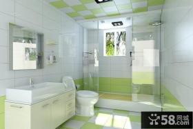 17万打造现代简约风格室内卫生间装修效果图大全2014图片