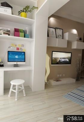 60平小户型客厅装修效果图简约风格