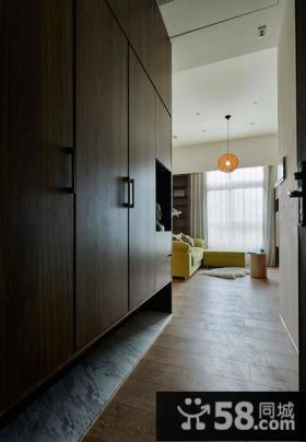 现代风格小别墅玄关设计效果图片