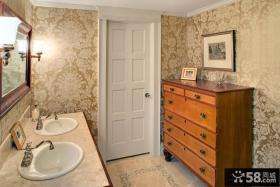 家装卫生间壁纸图片大全