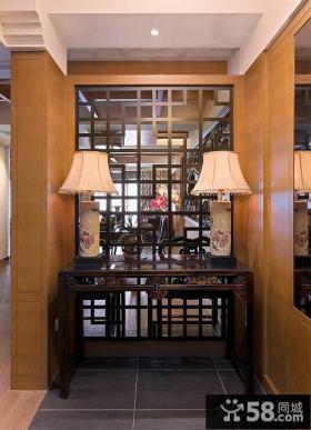 中式家装玄关设计图片