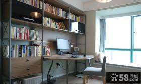 现代简约设计风格书房