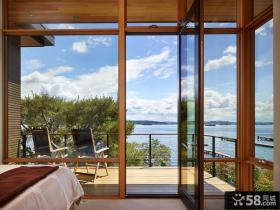 卧室阳台门窗设计效果图