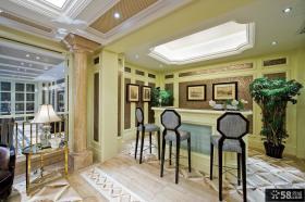 欧式高档私人别墅装修效果图片