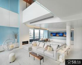 二层别墅图片大全 别墅客厅装修效果图