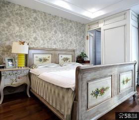 美式新古典风格室内卧室装修图片