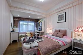 女生卧室壁纸装修效果图