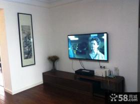 简约家庭电视背景墙装修效果图