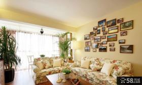 温馨田园风三居室内装饰效果图