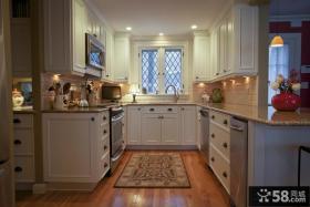 整体欧式厨房装修效果图