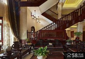古典明清中式楼梯设计