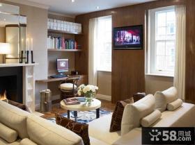 中式简约装修风格客厅图片
