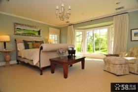 主卧室装修效果图大全2012图片 卧室窗帘图片