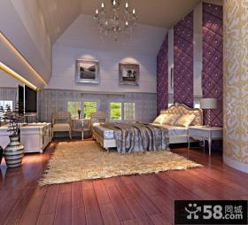 韩式卧室装修效果图大全2014图片