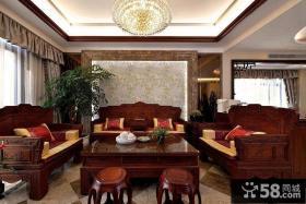 古典大器中式客厅装潢