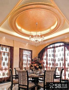 家装餐厅吊顶装修效果图大全2014