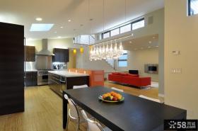 复式楼装修效果图 复式楼厨房餐厅设计