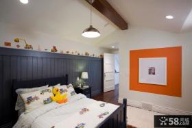 美式风格儿童卧室装修设计效果图