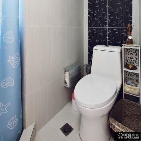 现代美式风格2平米小卫生间图片大全