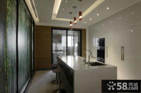 家装厨房设计吊顶图片