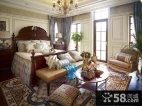 别墅欧式主卧室装修效果图大全2013图片