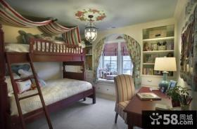 美式装修设计室内儿童房图片欣赏