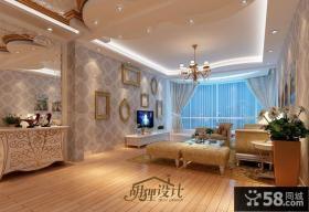 客厅吊顶装修设计效果图欣赏