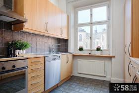 北欧小厨房设计效果图片
