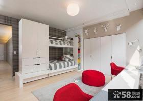 小户型双层儿童房装修效果图大全2014图片