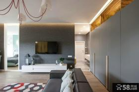 宜家设计室内客厅电视背景墙图片大全