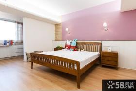 温馨简约卧室装修设计效果图