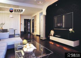 优质现代客厅电视背景墙效果图片