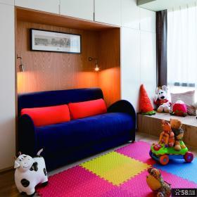 混搭复式儿童房装修案例