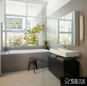 80平米小户型家庭卫生间装修设计