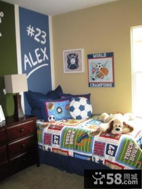 45平超小户型现代儿童房装修效果图