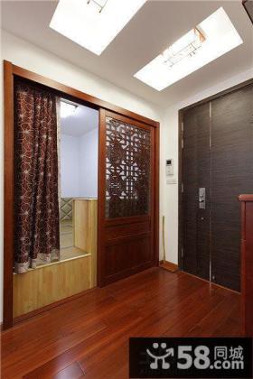 中式别墅玄关设计