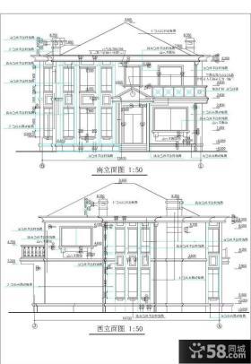 农村别墅设计图纸